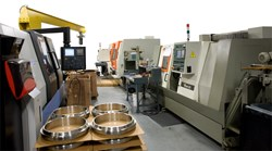 A Few of the CNC Machines at Texthread