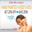 overstockArt.com Partners with The Kidd's Kids Foundation for a...