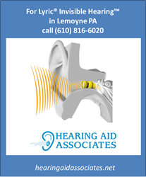 Lyric Hearing Aids in Lemoyne PA - Hearing Aid Associates