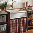 Cusine Single Basin Fireclay Farmhouse Kitchen Sink From Herbeau 4603
