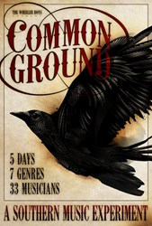 Custom designed crow art for Common Ground