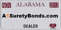 Get your AL Motor Vehicle Dealer Bond today!