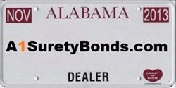 Get your AL Motor Vehicle Dealer Bond today!