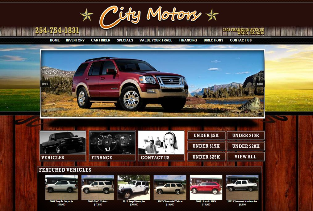 City motors to take advantage of marketing solutions for Law motors sioux falls