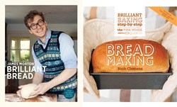 The Great British Book Off - Ruth Clemens and James Morton, both finalists on the BBCs Great British Bake Off, go head-to-head with their new bread making books publishing in August 2013