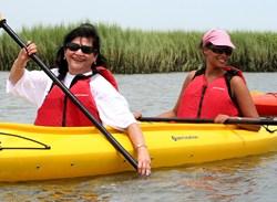 Kayaking and SUP at Hilton Head Health Weight Loss Resort