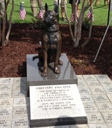 World S First Memorial To Special Forces K9 Soldiers