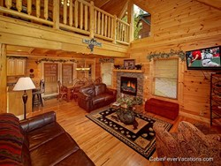 Cabin Fever Vacations' spacious Gatlinburg and Pigeon Forge cabins provide the perfect vacation oasis for any Smoky Mountain traveler.