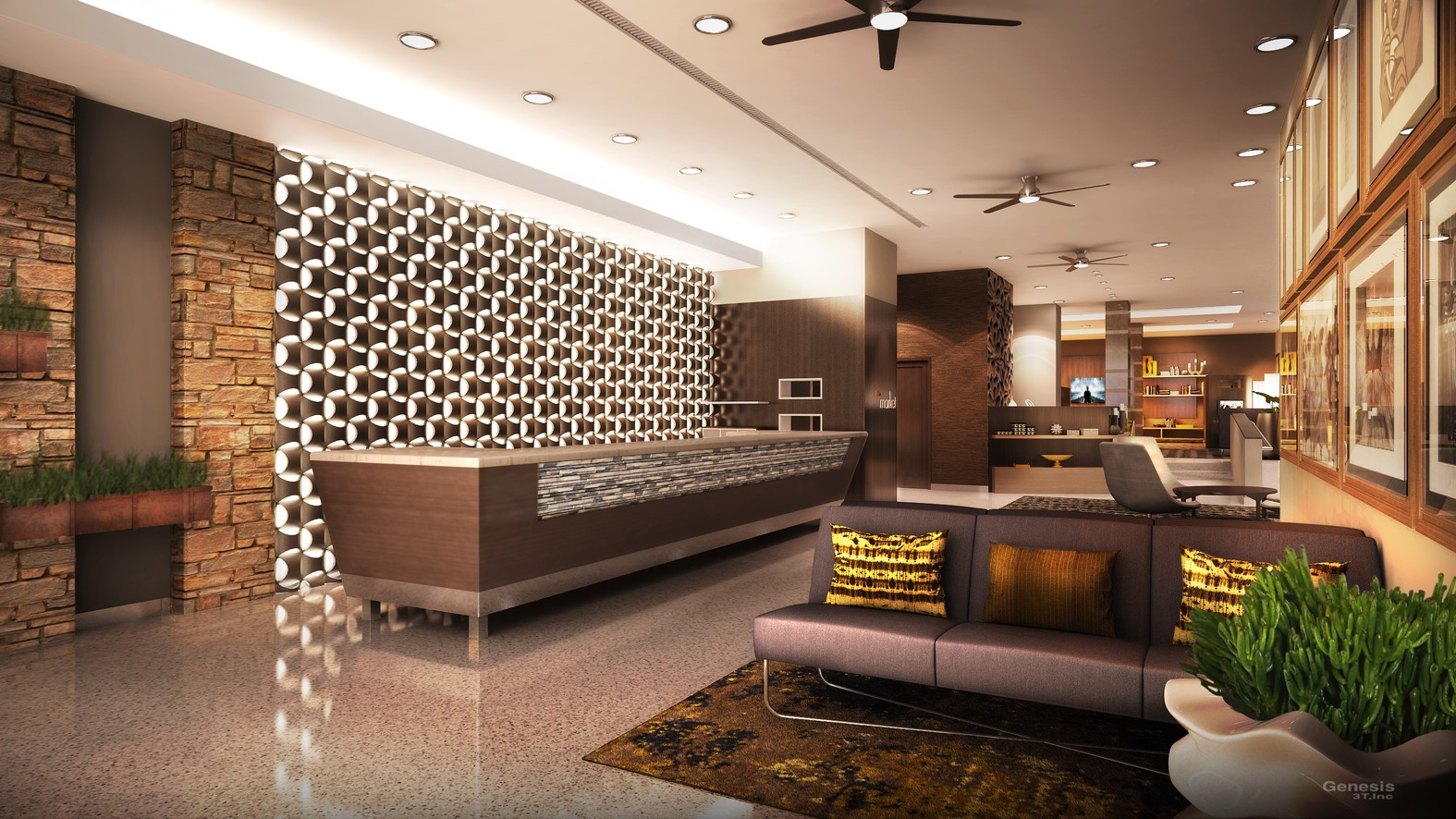 Newly Renovated Lobby Coming Soon To Courtyard Miami Beach