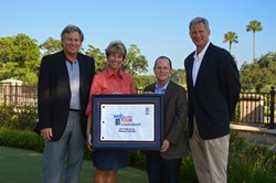 Executives of the Web.com Tour Championship and Founding Partner Legacy Trust Family Wealth Offices Announce their Legacy's Trust's role with the tournament.