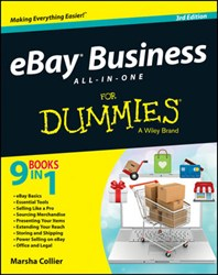 eBay, For Dummies, Marsha Collier, eBay business, online business