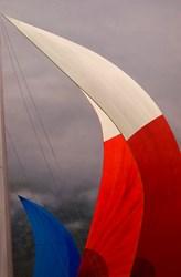 Sailing, Lake Champlain, Sailboat, Sailboat racing, Nautical art, Contemporary art, Elena Borstein, Seraphin Gallery, Regatta