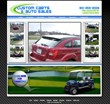 Custom Carts & Auto Sales Website Created by Carsforsale.com®...