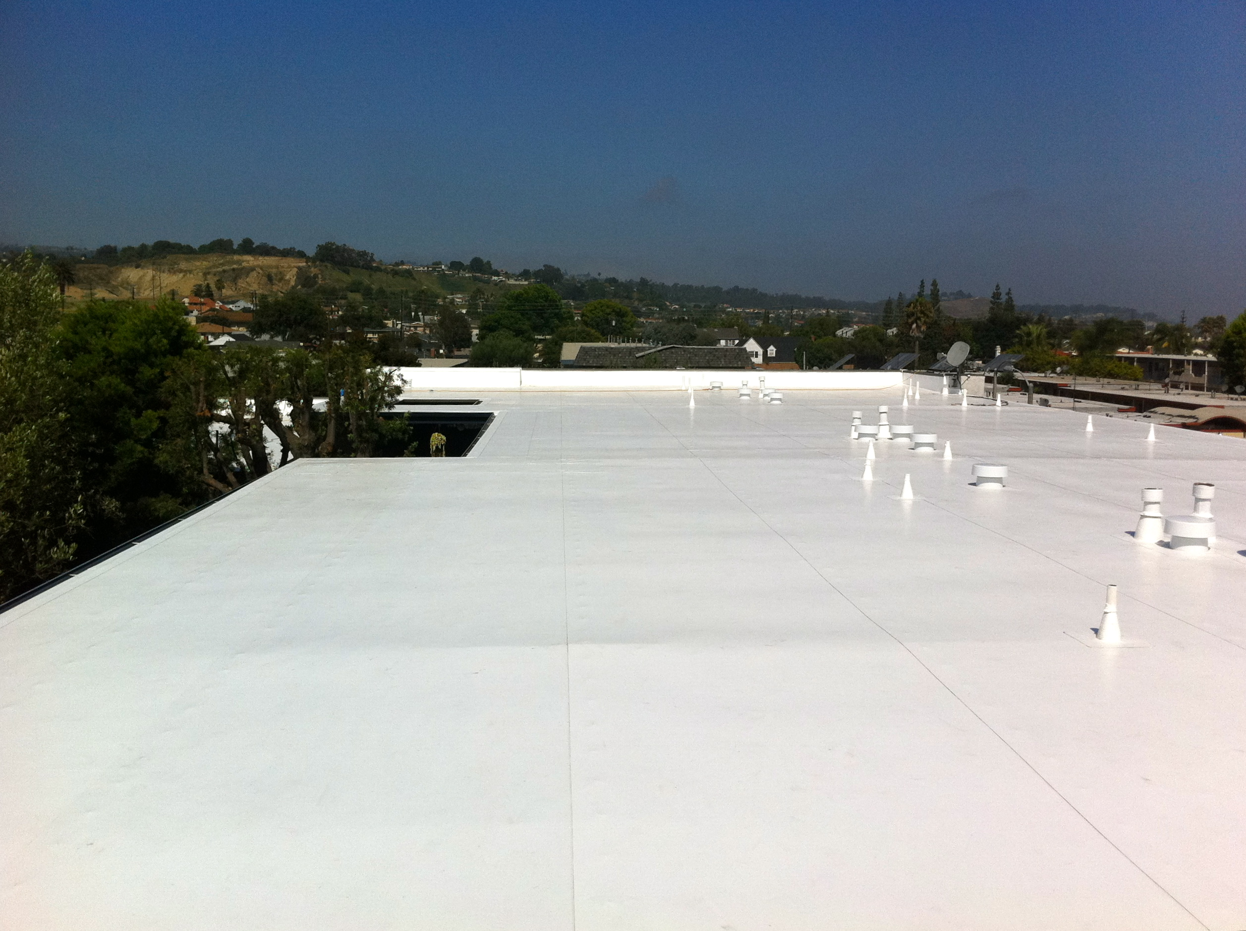 80 Mil IB Roof System Installed By Chandleru0027s Roofing On An HOA In Lomita,  CA.