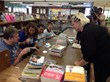 People's Care clients volunteered at the local library (photo by GSC)