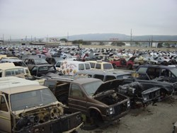 Junk Yard in Newark, NJ