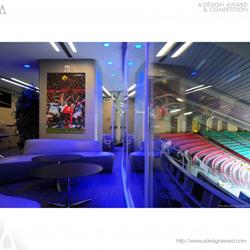 San Siro Stadium Sky Lounge by Francesco Ragazzi