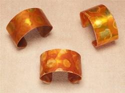 Carrot Parchment Cuff Bracelet offered by Stylish Organics