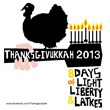Thanksgivukkah t-shirt design