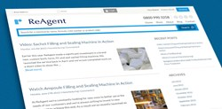 The improved ReAgent site features a new company blog