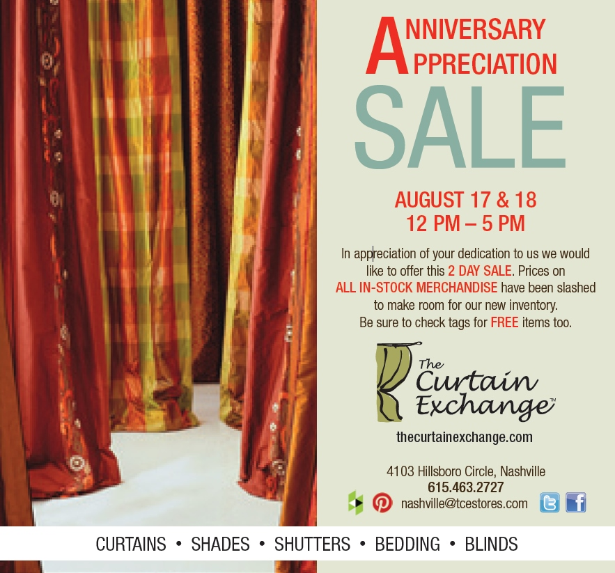 Curtain exchange nashville