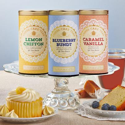 The Republic Of Tea Launches New Line Of Cuppa Cake Teas