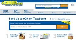 eCampus.com Website Redesign