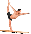 Jared McCann, World Yoga Asana Champion on The Indo Board