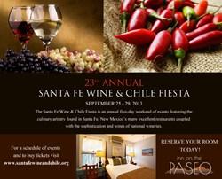 Santa fe wine & chile festival