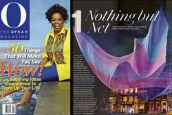 O Magazine Ranked Echelman Sculptures #1 in Wow List