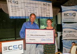 The CSG Golf Outing raised $37,000 for make a wish