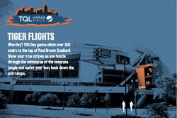 Paul Brown Stadium, obstacle race