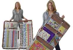 Wrap iT - The Best Gift Wrap Storage Organizer