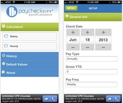 paycheck calculator, app, paycheckcity