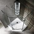 Vigo VG6061CHCL38 - 38 x 38 neo-angle shower enclosure