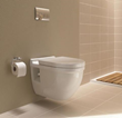 duravit 220209 one-piece wall-mounted toilet washdown model from starck 3 series