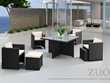 Naples Table Set Zuo Modern 701210