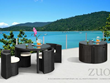 Tarfia Table Set Zuo Modern 701391