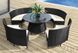 La Barrosa Table Set Zuo Modern 701390