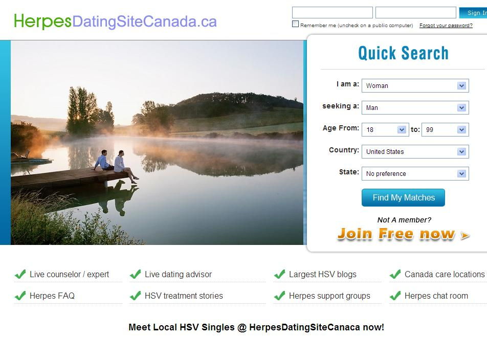 Canadian Dating - Meet Canada Singles Free
