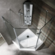 Vigo VG6061CHCL38 - 38 x 38 neo-angle shower enclosure