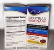 Lipotriad LLC Upgrades Flagship AREDS 2 Eye Vitamin Formula – Announces Removal of All Dyes from Lipotriad Visionary