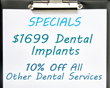 $1699 Dental Implants Miami