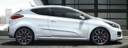 The high performance Kia pro_cee'd GT at Hendy Kia