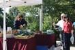 Buying produce from Jordan Creek Farm