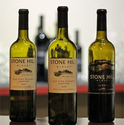 Stone Hill Winery in Hermann Missouri Hosts a 10 Year Vertical Tasting