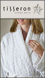 Lightweight Bathrobes from Tisseron Designs