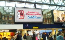 CashOff London Billboard
