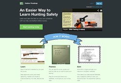 New Outdoor Roadmap online hunter safety class provides state-approved hunter education