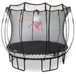 Round Springfree Trampoline, the safest trampoline in the world.